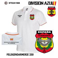 POLOS DIVISION AZUL: FELDGERDARMERIE 250