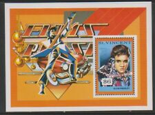 St Vincent - 1995,Centenary Of Cinéma (Elvis Presley) Feuille - MNH - Sg Ms3064b