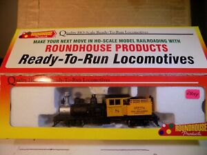 Roundhouse HOn3 Scale Denver & Rio G. (narrow guage) 2-Truck Shay NEW