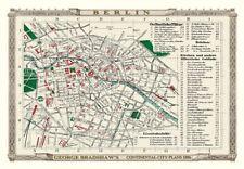 George Bradshaw'S CONTINENTAL Piano della città di Berlino 1896 - 1000 Pezzo Puzzle