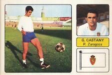 PABLO GARCIA CASTANY  # REAL ZARAGOZA CROMO CARD CAMPEONATO DE LIGA 1973-74 FHER