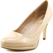 Zapatos de tacón de mujer de color principal crema sintético Talla 39.5