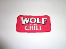 WOLF BRAND CHILI PATCH - RARE