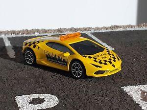 1/64 Majorette 219F Lamborghini Huracan LP 610-4 Follow Me Welcome To Majorette