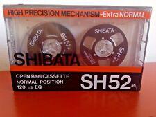 CASSETTE TAPE BLANK SEALED - SHIBATA SH52m RARE open reel imitation TEAC black
