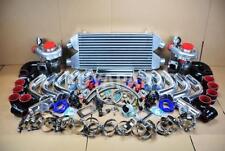 DIY FMIC TWIN T3/T4 TURBO CHARGER KIT 800HP FOR MUSTANG COBRA GT SVT V8 V6 CH/BR