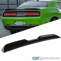 For Dodge 08-17 Challenger Demon Matte Black ABS Rear Trunk Spoiler Lip Wing