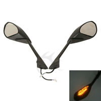 FOR Ducati 1199 1199S 1199R Panigale 2012-2014 2013 LED Turn Signal Rear Mirrors