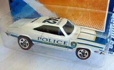 Hot Wheels  HW Main Street '11 '69 Dodge Charger  Police  w/ Redline 5 Spoke