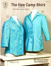 THE NEW CAMP SHIRT SOFTCOVER BOOK SEWING PATTERNS, From Taylor Made Designs NEW