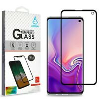 Full Coverage Tempered Glass Screen Protector/Black for SAMSUNG Galaxy S10E