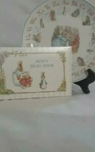 Wedgewood Peter Rabit Plate & The Beatrix Potter Pictures Book