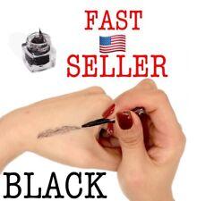Brow Extension Hair Fiber The Most Natural Way For Women Eyebrow Makeup. Black