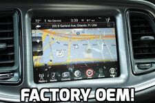 DODGE CHALLENGER RA4 8.4AN UCONNECT GPS NAVIGATION RADIO 2015 2016