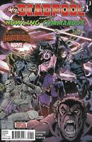 Mrs. Deadpool and the Howling Commandos Comic 1 Cover A Reilly Brown 2015 Marvel