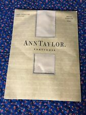 New Ann Taylor Pantyhose Sheer Control Top with Lycra sz med Champagne