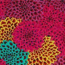 Rowan Kaffe Fassett Dahlia Blooms Cotton Fabric GP54 Figg, Limited Edition BTY