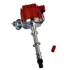 High Performance Cap HEI Distributor Red For Chevy/gm Small Block Big Block 65k