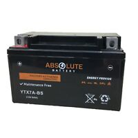 New YTX7A-BS Replacement Battery For YUASA YUAM32X7A GTX7A-BS ETX7A CTX7A-BS