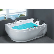 Corner JETTED BATHTUB ,Whirlpool & Air Bubble & Massage,Heater.USA Warranty