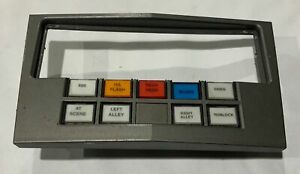 Vintage Ex Police Car Switch Panel For Vauxhall Astra Vectra Or Corsa Type 4