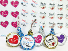 HOT Wedding Decoration Party Favors (108) Fits Hershey Kisses Candy Stickers