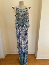 Camilla Silk Blue Toned Jumpsuit Size 3