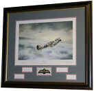 First of Many by Robert Taylor - Framed with Douglas Bader signature
