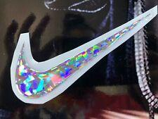 Nike logo Gel Relieve, sticker Gel, Relieve decals, Cristal Molido, 3D