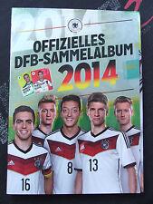 Offizielles DFB Sammelalbum Fussball WM 2014 +Alle Karten KOMPLETT (Rewe)