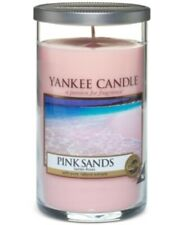 YANKEE CANDLE PINK SANDS PERFECT PILLAR CANDLE 12 oz NEW!