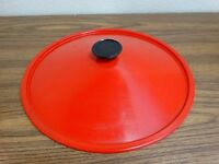 West Bend Electric Wok REPLACEMENT Red Lid Model 79525