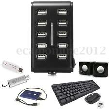 10 Ports USB 2.0 Hub High Speed Extension Charger Multi Outlet Power Strip Type
