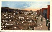 Blockade of Cotton ~ Cotton Row ~ Augusta Georgia GA ~ ca. 1915 postcard