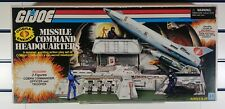 Gi Joe/Action Force Cobra Missile Command Headquarters Sealed With Figures