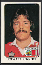 Panini football 1979 sticker-nº 431-stewart kennedy-aberdeen