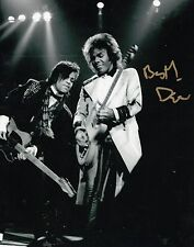 Dez Dickerson Guitarist-Songwriter Signed  8x10 Photo With Prince With COA dd2