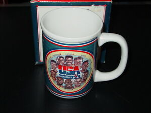SPORTS IMPRESSIONS 1990's CERAMIC STEINS FIRST TEN COLLECTIBLE COFFEE CUP N/M