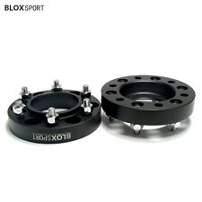 2Pc 1 inch 6x139.7 Wheel Spacers Hub Centric Fit Toyota FJ Cruiser Tacoma Hilux