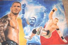 Pillow Case WWF Wrestling, Both Sides, OR FOR CRAFTS, MATERIAL SEWING SMOKE FREE