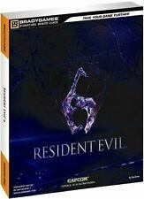 Guide officiel Resident Evil 6  - Neuf sous blister - Brady Games - Français