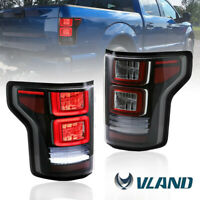 1 Pair LED Tail Lights Assembly for 2015-2020 Ford F-150 F150 Plug & Play New