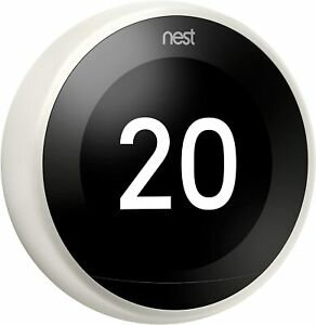 Nest T3030EX 3rd Generation Learning Thermostat - White