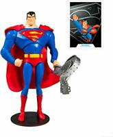 McFarlane DC Animated WV1 Superman 7IN Scale AF Action Figure, Multicolor
