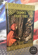 NEW Grimm's Fairy Tales Illustrated Edition Brothers Grimm Hardcover Hardback