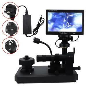 360° Rotating Stage Microscope Diamond Jewelry Inscription Waist  Viewer Kit