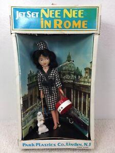 Vintage 1970' JET SET NEE NEE IN ROME W POODLE PARK PLASTICS CO Hong Kong W BOX