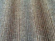Maharam 100% Wool Stripe Upholstery Fabric- Wool Strie Umber 3.75 yd 466184-005