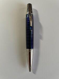"""Montblanc 104919 Boheme Paso Doble Bleu Sapphire  Stone Ballpoint Mini 4.25"""" Pen"""