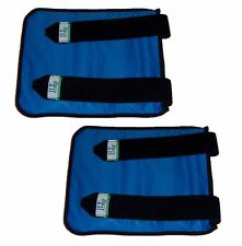 """Set of Two 2 Ice Cold / Hot Thermal Therapy Gel Pack Wrap (10"""" x 12"""" Elbow, Leg)"""